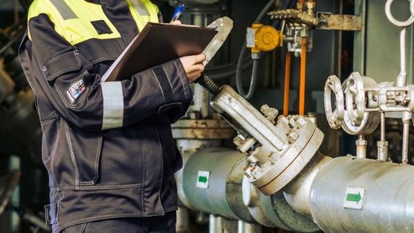 Aplicación de medidas preventivas en una empresa química