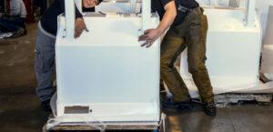 Manipulación manual de cargas en una empresa