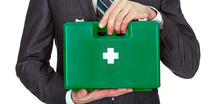 Procedimiento de primeros auxilios en una empresa