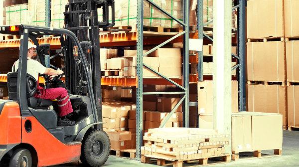 Vibración baja en el trabajador con carretilla